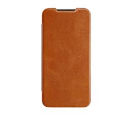 Etui / obudowa na smartfona Nillkin Etui Skórzane Qin do Xiaomi Mi 9 SE brązowy