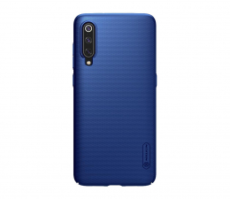 Etui/obudowa na smartfona Nillkin Super Frosted Shield do Xiaomi Mi 9 granatowy
