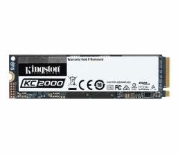 Dysk SSD  Kingston 250GB M.2 PCIe NVMe KC2000
