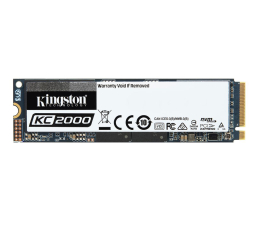 Dysk SSD  Kingston 500GB M.2 PCIe NVMe KC2000