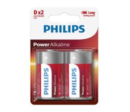 Bateria alkaliczna Philips Power Alkaline D LR20 (2szt)