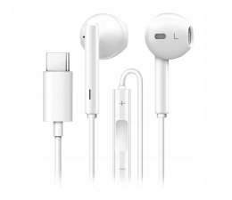 Słuchawki przewodowe Huawei Słuchawki douszne CM33 USB-C biały