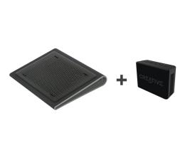 Podstawka chłodząca pod laptop Targus AWE55 + Muvo 1c czarny