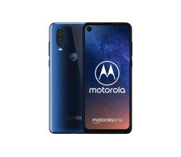 Smartfon / Telefon Motorola One Vision 4/128GB Dual SIM niebieski + etui