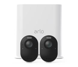 Kamera IP Netgear Arlo Ultra WiFi 4K UHD IR (2szt. + stacja alarm.)