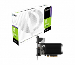 Karta graficzna NVIDIA Palit GeForce GT 710 2GB DDR3