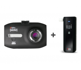 "Wideorejestrator Xblitz Mini Full HD/1,5""/120 + Alkomat Spirit"