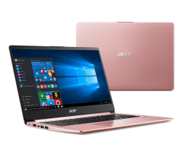 "Notebook / Laptop 14,1"" Acer Swift 1 N4000/4GB/256/Win10 Różowy"