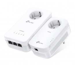 Adapter HomePlug (PLC) TP-Link TL-WPA8630P KIT PowerLine LAN+WiFi 1350Mb/s (2szt)
