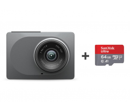 "Wideorejestrator Xiaoyi Yi Dash Camera 2.5K/2,7""/165 + 64GB"