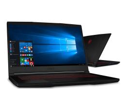 """Notebook / Laptop 15,6"""" MSI  GF63 i5-9300H/16GB/256/Win10X GTX1050Ti"""
