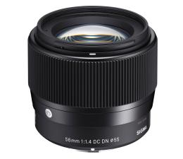 Obiektywy stałoogniskowy Sigma C 56mm f/1.4 DC DN Sony E