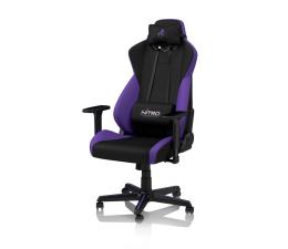 Fotel gamingowy Nitro Concepts S300 Gaming (Czarno-Fioletowy)