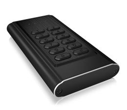 Obudowa dysku ICY BOX Obudowa do dysku M.2 SATA (USB 3.0, szyfrowana)