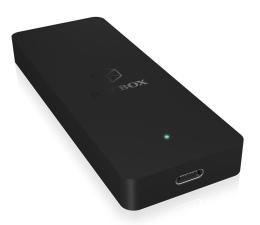 Obudowa dysku ICY BOX Obudowa do dysku M.2 SATA SSD (USB-C)