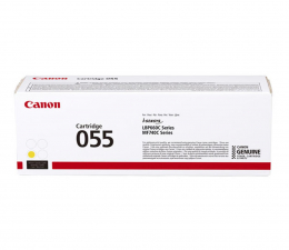 Toner do drukarki Canon 055 yellow 2100str.