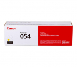 Toner do drukarki Canon 054 yellow 1200str.