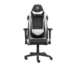 Fotel gamingowy Silver Monkey SMG-500 (Czarno-Biały)