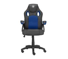 Fotel gamingowy Silver Monkey SMG-200 (Czarno-Niebieski)