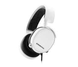 Słuchawki przewodowe SteelSeries Arctis 3 Białe