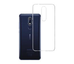Etui/obudowa na smartfona 3mk Clear Case do Nokia 5.1