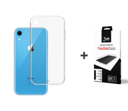 Etui/obudowa na smartfona 3mk Zestaw Armor Case + Flexible Glass do iPhone Xr