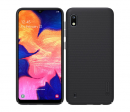 Etui/obudowa na smartfona Nillkin Super Frosted Shield do Samsung Galaxy A10 czarny