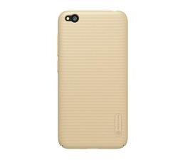 Etui/obudowa na smartfona Nillkin Super Frosted Shield do Xiaomi Redmi Go złoty