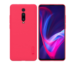 Etui/obudowa na smartfona Nillkin Super Frosted Shield do Xiaomi Mi 9T/Mi 9T Pro Red