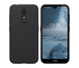Etui/obudowa na smartfona Nillkin Super Frosted Shield do Nokia 4.2 czarny