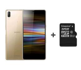 Smartfon / Telefon Sony Xperia L3 I4312 3/32GB Dual SIM złoty + 32GB