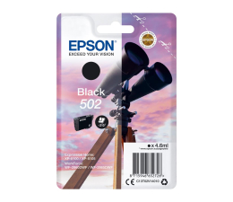 Tusz do drukarki Epson 502 INK Black