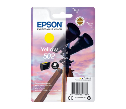 Tusz do drukarki Epson 502 INK Yellow