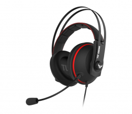 Słuchawki przewodowe ASUS TUF Gaming H7 (czerwony)