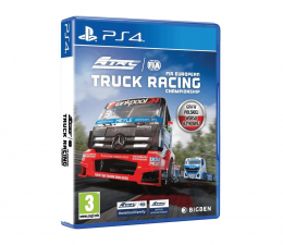 Gra na PlayStation 4 PlayStation FIA European Truck Racing Championship
