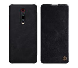 Etui/obudowa na smartfona Nillkin Etui Skórzane Qin do Xiaomi Mi 9T/Mi 9T Pro czarny