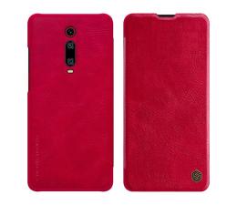 Etui/obudowa na smartfona Nillkin Etui Skórzane Qin do Xiaomi Mi 9T/Mi 9T Pro Red