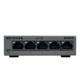 Switch Netgear 5p GS305-300PES (5x10/100/1000Mbit)