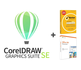 Program graficzny/wideo Corel Graphic Suite SE 2019 + Office 365 + Norton