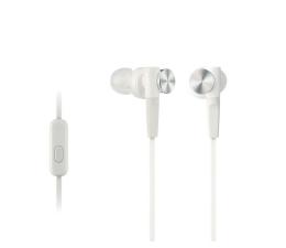 Słuchawki przewodowe Sony MDR-XB50AP Białe
