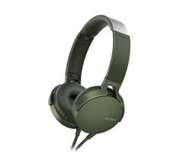 Słuchawki przewodowe Sony MDR-XB550AP Zielone