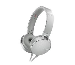 Słuchawki przewodowe Sony MDR-XB550AP Białe