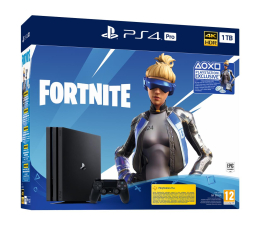 Konsola PlayStation Sony PlayStation 4 PRO 1TB SSD + Fortnite DLC
