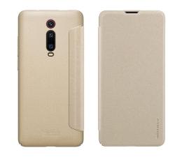Etui / obudowa na smartfona Nillkin Etui z Klapką Sparkle Xiaomi Mi 9T/Mi 9T Pro złoty