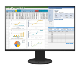 "Monitor LED 24"" Eizo FlexScan EV2457-BK"