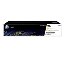 Toner do drukarki HP 117A yellow 700str.
