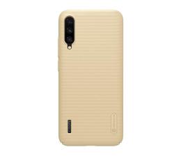 Etui/obudowa na smartfona Nillkin Super Frosted Shield do Xiaomi Mi A3 złoty