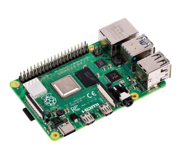 Nettop/Mini-PC Raspberry Pi 4 model B (4x1.5GHz, 4GB RAM, WiFi, Bluetooth)