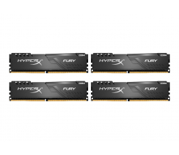 Pamięć RAM DDR4 HyperX 32GB 3466MHz Fury CL16 (4x8GB)