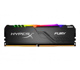 Pamięć RAM DDR4 HyperX 16GB 2400MHz Fury RGB CL15